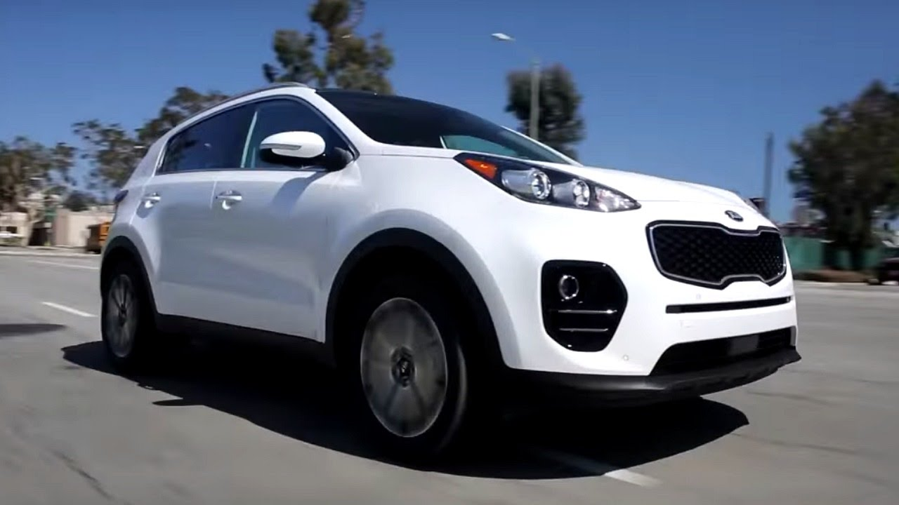 2017 kia sportage review and road test youtube. Black Bedroom Furniture Sets. Home Design Ideas