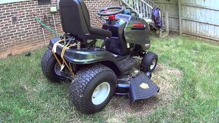 "Troy-Bilt Horse XP 46"" Hydrostatic Riding Lawn Tractor - Product Review"