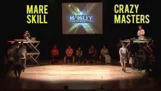 Bboy Confronto 2015/ MARE SKILL x CRAZY MASTERS