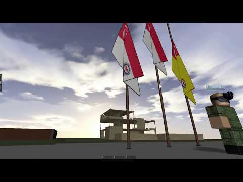 [Roblox SAF] Singapore Army Roblox SAF Day Parade rehearsal