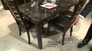 Standard Furniture Bella Collection Dining Table - Factorydiningrooms.com