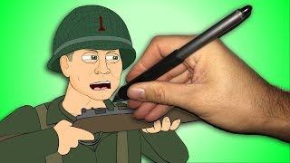 CALL OF DUTY WW2 ANIMATED SONG - Behind The Scenes