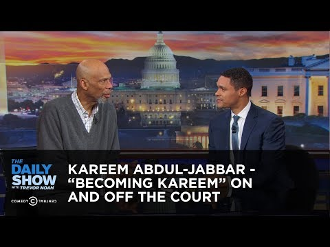 "Trevor Noah vs. Kareem Abdul-Jabbar Talks ""Becoming Kareem"" On & Off The Court"