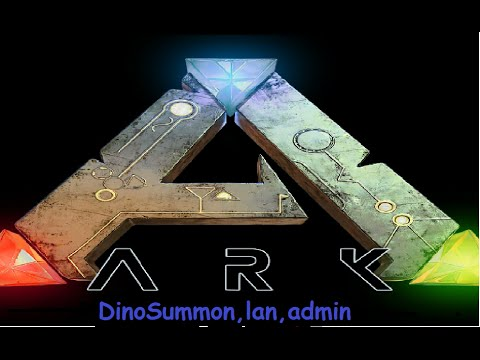 Ark Survival how to summon dinos, enable cheats on server, and set up lan server,