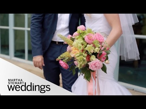 Katie Leclerc and Brian Habecost's Palm Springs Wedding  Martha Stewart Weddings