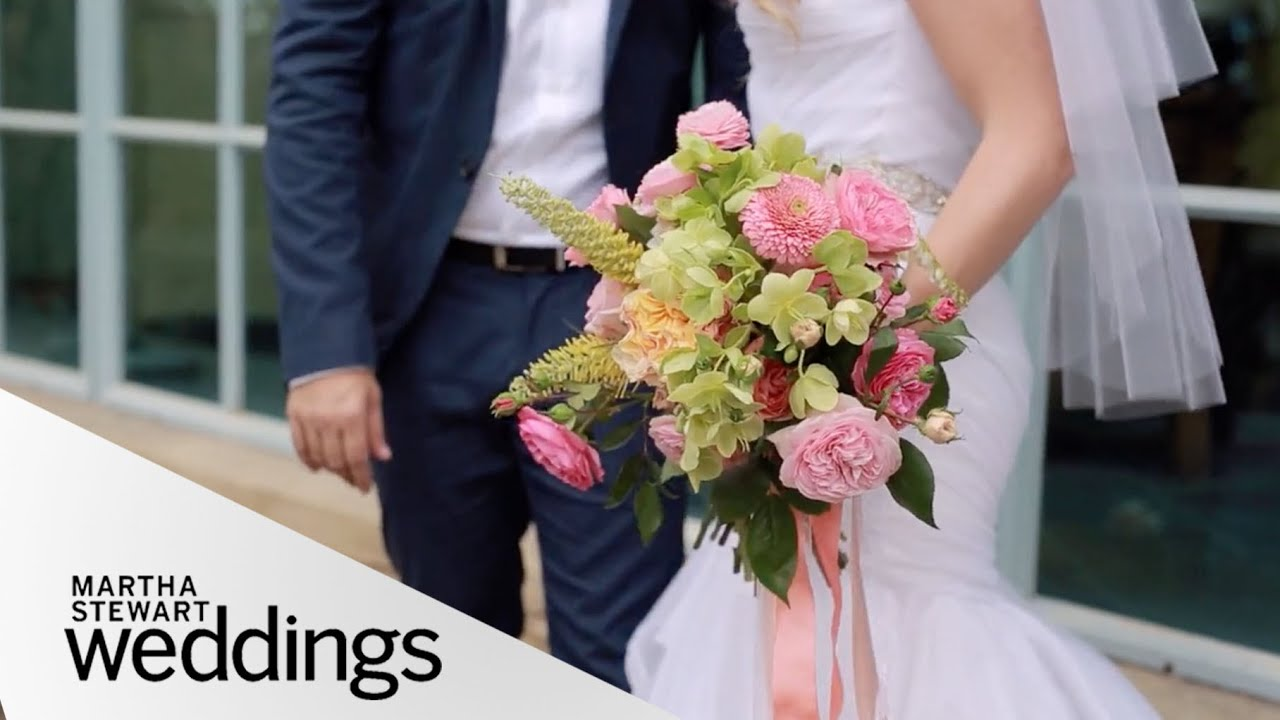 Martha Stewart Weddings: Katie Leclerc And Brian Habecost's Palm Springs Wedding