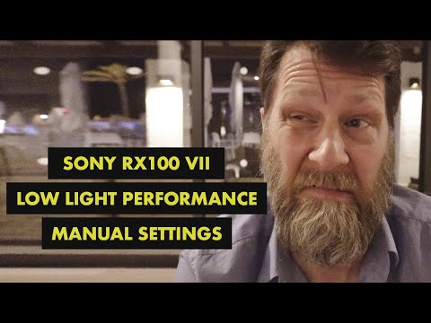 Sony Rx100 Vii Low Light Test With Manual Settings And IPhone Comparison - 4K