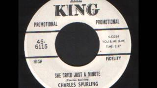 Charles Spurling   she cried just a minute   R&B Soul