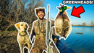 Duck Hunting My FARM on OPENING DAY!!!