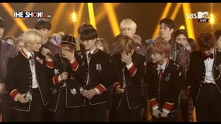 """[ENG SUB] 170214 NCT DREAM - 1st Win + Encore """"My First and Last"""" @ The Show"""