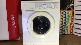 엘지 트롬 7kg 드럼세탁기 작동영상(탈수) LG wa…