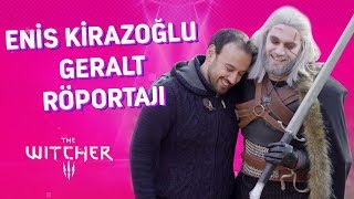 Enis Kirazoğlu Geralt Röportajı - Witcher | Maximum Gaming