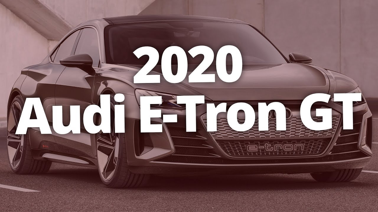 2020 Audi E Tron Gt The Tesla Killer Stable Lease Youtube