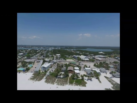 Fort Myers Florida Beach Drone