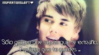 Justin Bieber - All I Want Is You Traducida Al español
