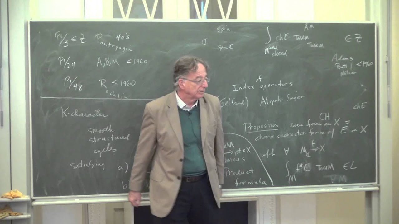 Differential K-theory and its Characters   D. Sullivan,James H ...