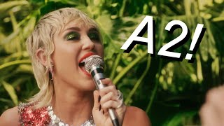 Miley Cyrus - 2020 Full LIVE VOCAL RANGE! (Singing) A2 - D5