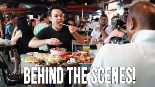Behind The Scenes Foodrangin' in Penang!