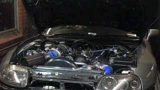 Jaysen's Toyota Supra 93 Octane Dyno PT-74GTS