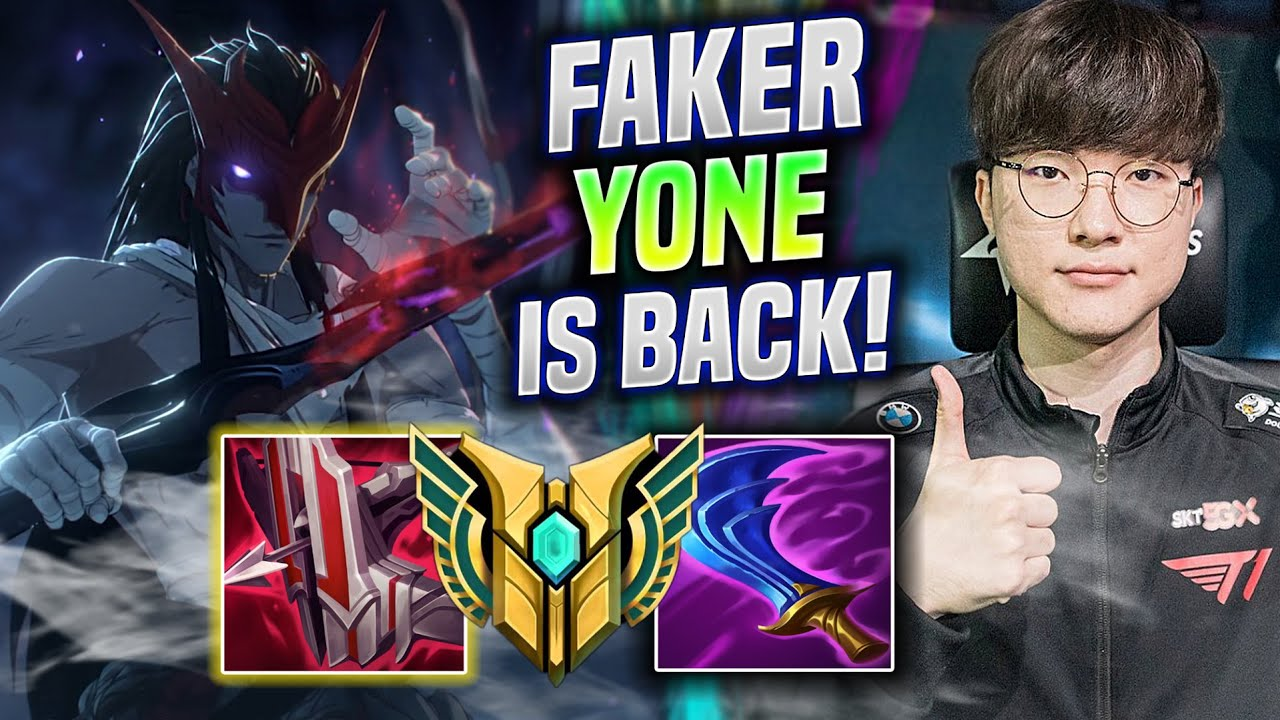 FAKER YONE IS BACK! BUT... 😂 - T1 Faker Plays Yone Mid vs Ryze! | Be Challenger