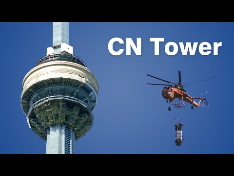 How The CN Tower Was Built