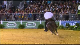 JEM 2014 : Shawn Flarida et son cheval Spooks Gotta Whiz remportent la victoire