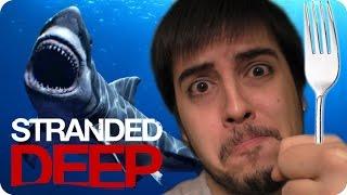 ¡LA RICA DIETA DE UN NAUFRAGO! | Stranded Deep #3