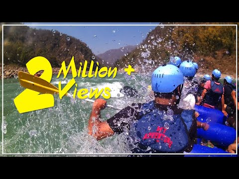 Rishikesh River Rafting Accident | White Water Rafting | Rescuing People in river rafting