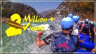 Rishikesh River Rafting Accident   White Water Rafting   Rescuing People in river rafting