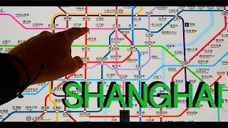 SHANGHAI : HOW TO   SHANGHAI SUBWAY TOUR   China Travel Guide (FULL HD)