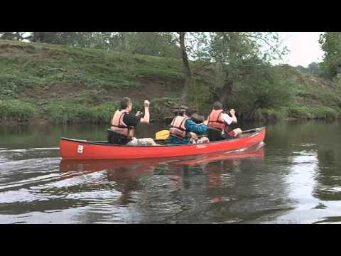Ross-on-Wye To Symonds Yat By Canadian Canoe