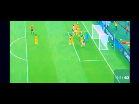 Mexico vs Cameroon 1: 0 Gol Peralta O 2014