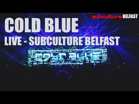 Cold Blue - Live Subculture, Belfast 2017 FULL SET LIVE