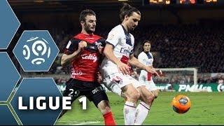 EA Guingamp - PSG (1-1) - 25/01/14 - (EA Guingamp - Paris Saint-Germain) - Résumé