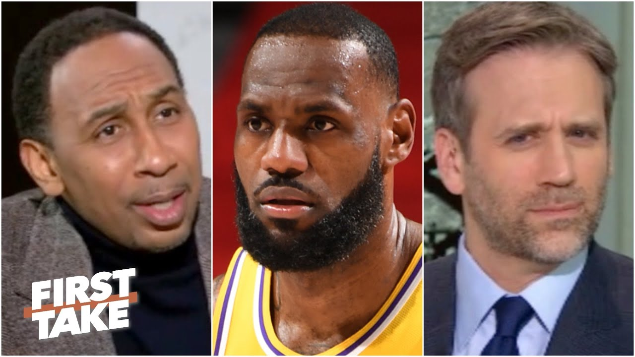 Stephen A. defends LeBron after the Lakers' loss to the Pistons | First Take