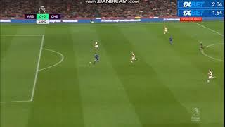 Arsenal vs chelsea morata goal mİssed 2018