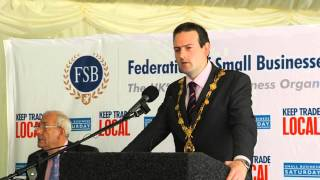 Cllr Martin Reilly, Mayor of Derry City Council