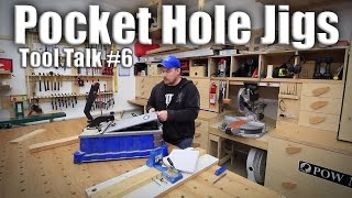 Tool Talk #6: Pocket Hole Jigs