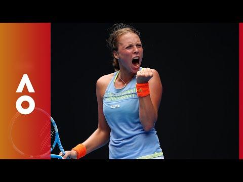 Kontaveit amazing moment | Australian Open 2018