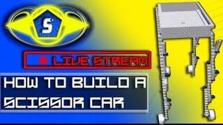 Live Stream [Roblox BYM] Construire une voiture de bras de ciseaux! MEMES PARTOUT!!!