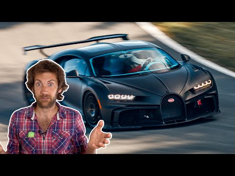 Bugatti's New Chiron Pur Sport Looks Insanely Fast On Track | Carfection 4K