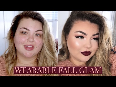 WEARABLE VAMPY FALL GLAM MAKEUP TUTORIAL thumbnail