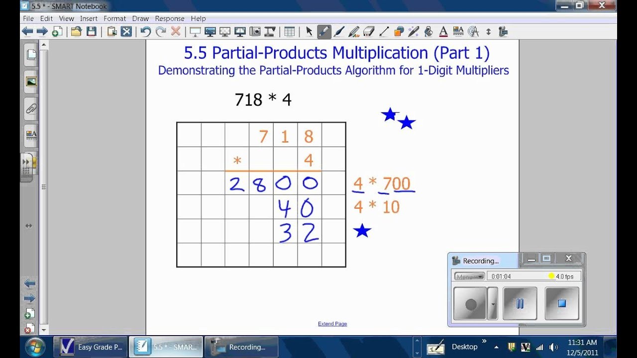 Partial Products Wmv
