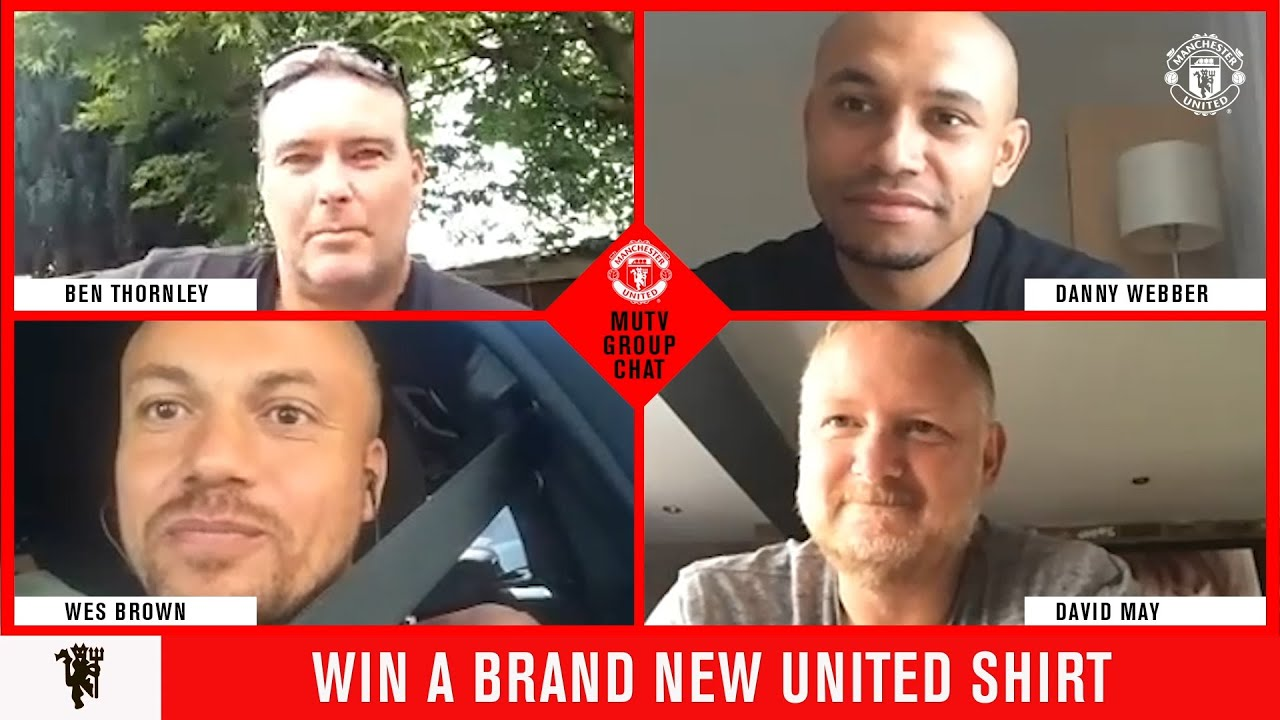 Manchester United   MUTV Group Chat   Win A New United Shirt