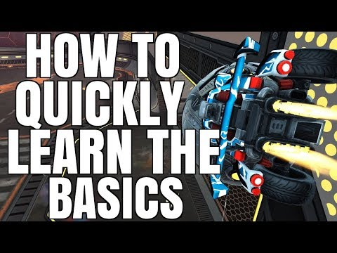 HOW TO QUICKLY LEARN THE BASICS (AIR DRIBBLES, DRIBBLES, DOUBLE TOUCHES)