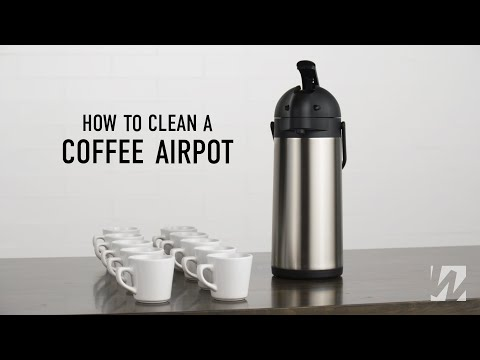 How To Clean A Coffee Airpot
