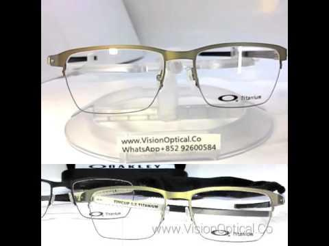 7dfd1e93ec Oakley Tincup 0.5 titanium OX5099 - YouTube