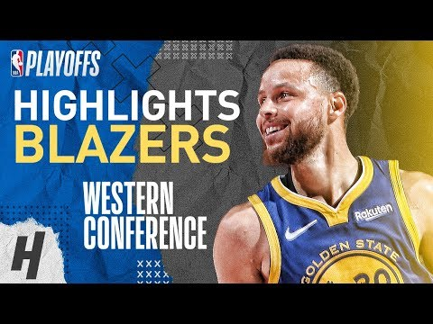 Stephen Curry  Series Highlights vs Trail Blazers  2019 NBA Playoffs WCF