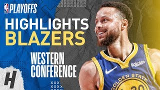 Stephen Curry Full Series Highlights vs Trail Blazers | 2019 NBA Playoffs WCF