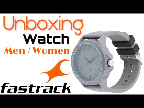 Unboxing Fastrack 38024PP24 Minimalists Analog Watch - For Men & Women | Fastrack Best Watch